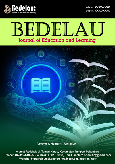 Bedelau: Journal of Education and Learning
